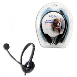 Logilink Stereo headset with microphone