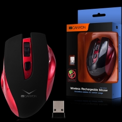 Canyon Wireless Rechargeable Mouse, innovative solution for comfort usage