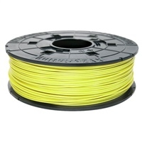 XYZ da Vinci 600gr Neon Yellow ABS Filament Cartridge, RF10XXEU0DE