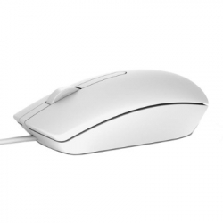 Dell Optical Mouse-MS116 - White, 570-AAIP/P1
