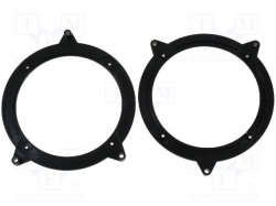 Speaker adapter; 130mm; BMW 3 rear