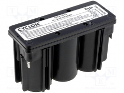 Hawker energy / Rechargeable battery: acid-lead; 6V; 2.5Ah; Size: MONOBLO, CYCLON-D6