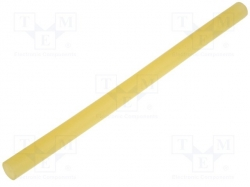 Hot melt glue; Ø:11mm; yellow transparent